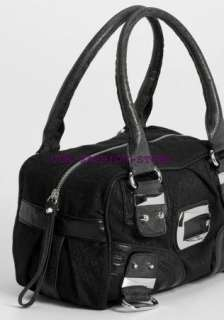 GUESS HANDBAG JILLY BOX BAG PURSE BLACK FASHION G LADY