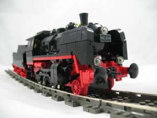 Lego Custom Train Steam Locomotive INSTRUCTIONS ONLY