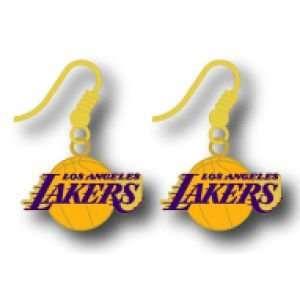 Los Angeles Lakers Logo Earrings