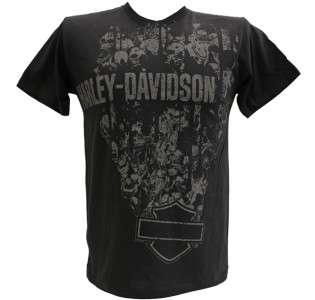 find this shirt anywhere else las vegas harley davidson logo at back