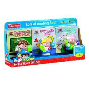 Fisher Price Little People Book & Figure Set Toys & Games