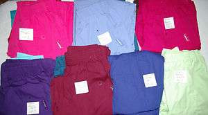 or 3 Landau Medical Nursery Uniform Scrubs Pants Style 8320 Sz SM