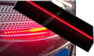 48 LED Red Car Waterproof Knight Rider Strip Scan Lights 20 Modes