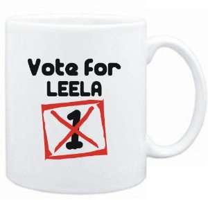 Mug White  Vote for Leela  Female Names Sports