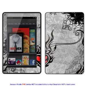 Skin sticker for  Kindle Fire case cover Kfire 681 Electronics