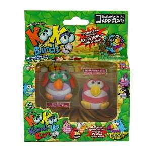 KooKoo Zoo Flocked Birds 2 Pack   Pond Trotter and
