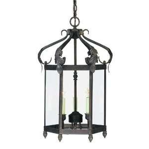 Savoy House KP 117 3 91 Bryce 3 Light Foyer Lantern in