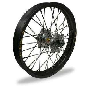 MX Rear Wheel Set   19x2.15   Black Rim/Silver Hub 24 12012 HUB/RIM