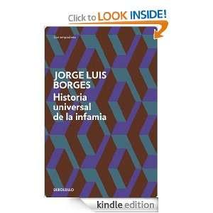Historia universal de la infamia (Contemporanea (debolsillo)) (Spanish