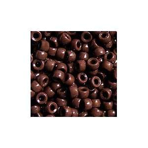 Opaque Brown 7mm Mini Pony Beads, 1000pcs:  Home & Kitchen