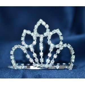 with Rhinestones Crystal Wedding Bridal Princess Crown Tiara with Comb