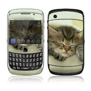 BlackBerry Curve 3G Decal Skin Sticker   Animal Sleeping