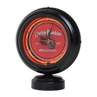 Harley Davidson Dual Lit Neon Table Lamp