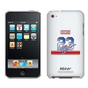 Marshawn Lynch Signed Jersey on iPod Touch 4G XGear Shell
