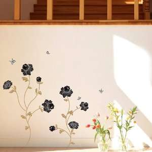 Flower removable Vinyl Mural Art Wall Sticker Decal