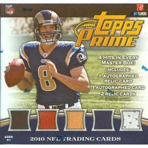 Topps Prime NFL Football Sports Trading Cards Box