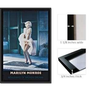 Framed Marilyn Monroe Blvd Broken Dreams Poster Fr1516