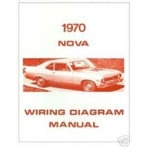 1970 CHEVROLET CHEVY II NOVA Wiring Diagrams Schematics