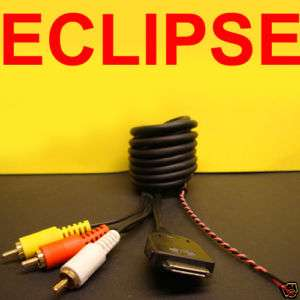 ECLIPSE iPC 409 RCA IPOD VIDEO INTERFACE CABLE AVN4430