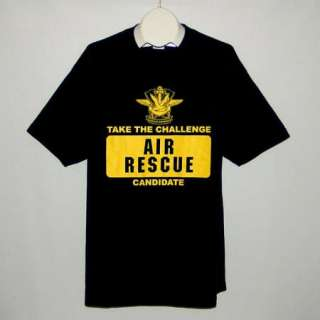 Search & Rescue Sea Air Rescue Swimmer Candidate T Shirt XL