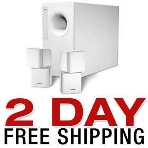 NEW BOSE ACOUSTIMASS 5 SERIES III SPEAKER SYSTEM WHITE 017817234191