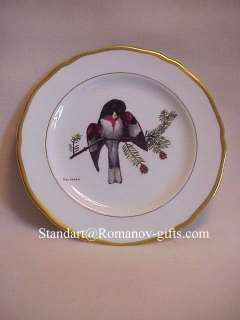 RAY HARM SPODE PLATES AMERICAN SONGBIRDS set of 12