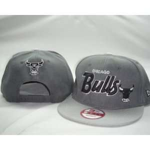 New Era Chicago Bulls Snapback Cool Grey Hat Sports