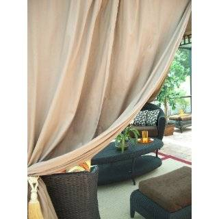 Outdoor Gazebo Patio Drapes Purple Berry Sheer Tie Tops 84 Includes