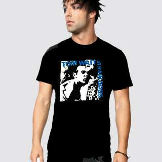 TOM WAITS RAIN DOGS T SHIRT NEW BLACK