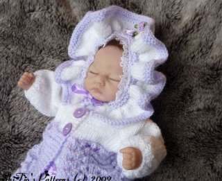 Emmy Doll Knitting Pattern : Knitting Pattern Baby Barbie Doll & Premature Babies