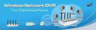 Network IR Wireless Security Surveillance System Kit Camera DVR