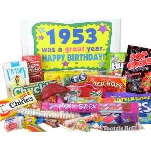 50s Retro Candy Decade Birthday Gift Box Jr.   Nostalgic Candy 1953
