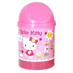 Hello Kitty Wastebasket   Sanrio Hello Kitty Pink Trash
