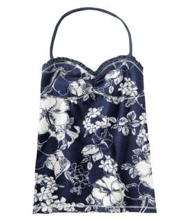 Aeropostale womens floral halter tank cami shirt