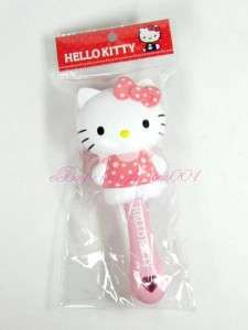 Sanrio Hello Kitty Pink Hair Styling Brush / Comb  JAPAN