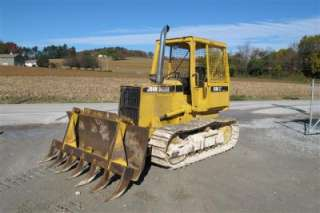 GOOD JOHN DEERE 550G LT SERIES IV CRAWLER DOZER WITH OROPS, RUNS GOOD