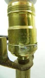 VTG MID CENTURY DANISH MODERN TEAK WOOD 1960s SOFA TABLE LAMPS PAIR~2