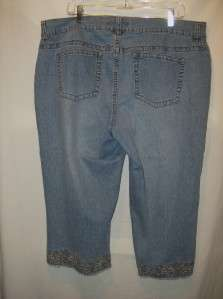 Avenue womens capri jeans that are size 18   the waist is 41, the