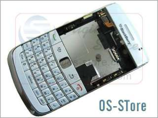 BlackBerry Bold 9780 Full Housing Case Faceplate White