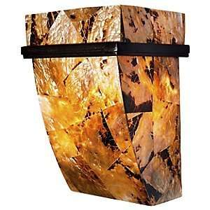 Sustainable Shell Big Wall Sconce by Varaluz Home