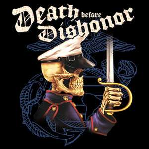 Death Before Dishonor USMC Marine Corps Jarhead Devildog All Sizes