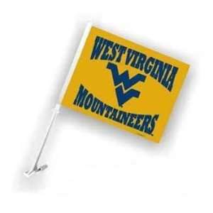 Virginia WVU Mountaineers Car/Truck Window Flag