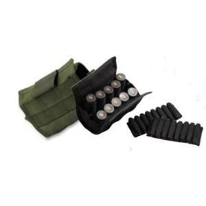 Uncle Mikes Shotgun / Rifle Shell Carrier Pouch   Black