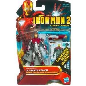 Iron Man 2 Concept Series 4 Inch Action Figure Iron Man