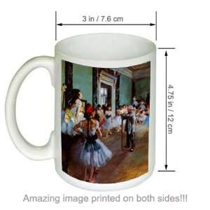 The Dancing Class Edgar Degas Art COFFEE MUG Kitchen