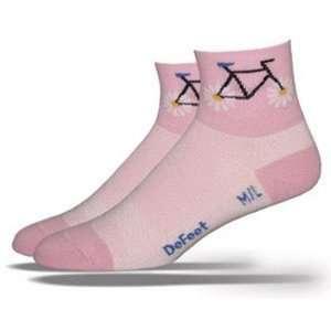 DeFeet Womens AirEator Petal Power Pink Cycling/Running