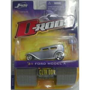 rods Wave 1 1931 Ford Model a No#004 in Color Silver