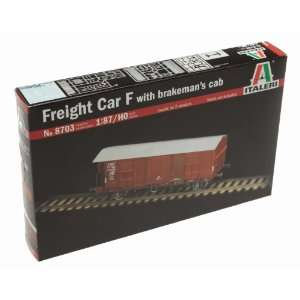 1/87 Freight Car F with Brakemans Cab Toys & Games