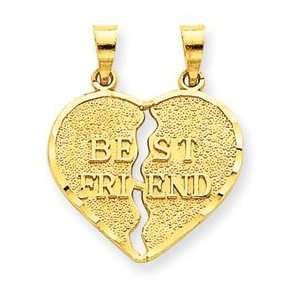 14k Break apart Best Friend Charm [Jewelry]