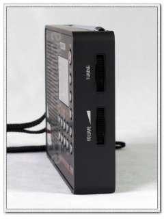 DIGITAL DSP FM MW LW SW AM SHORTWAVE TECSUN PL505 PORTABLE RADIO BLACK